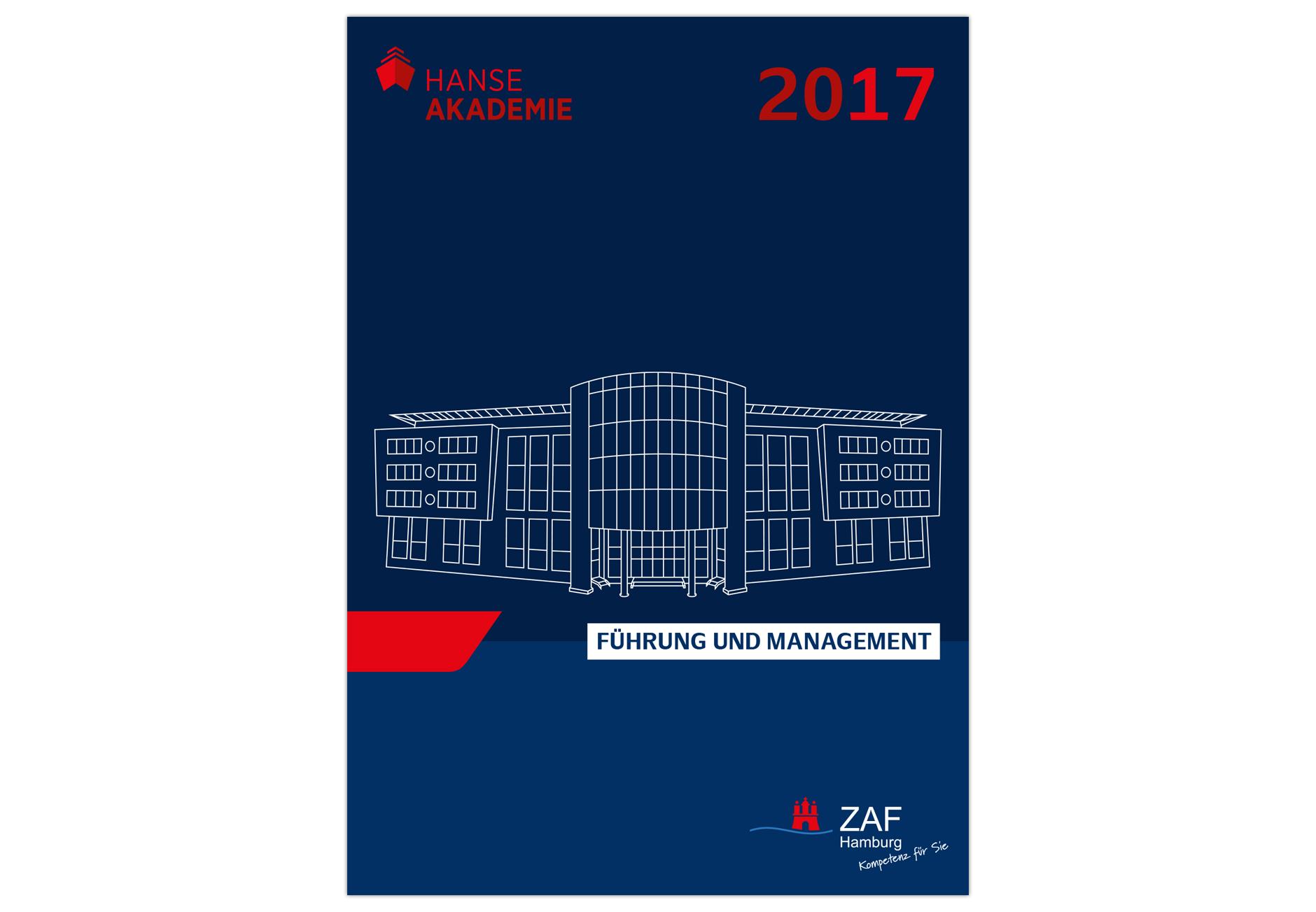 HANSE-AKADEMIELogoentwicklung und Katalog-Covergestaltung