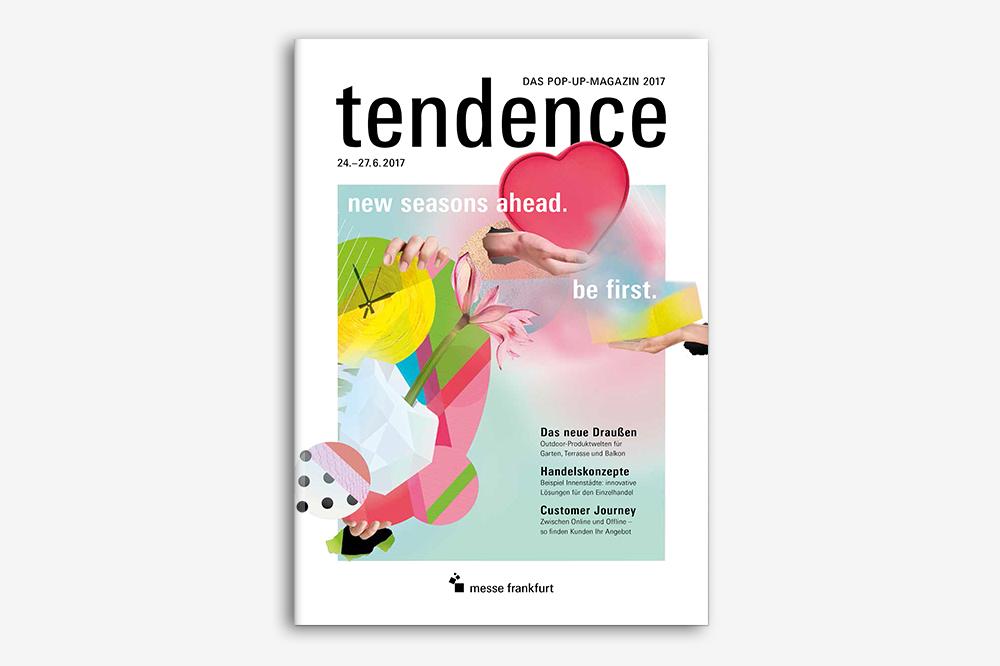 TENDENCE – DAS POP-UP MAGAZIN