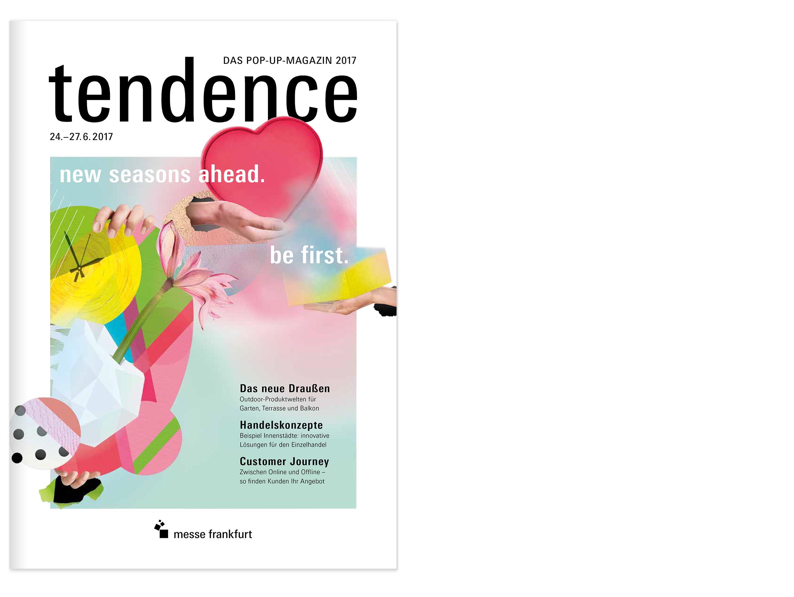 TENDENCE – DAS POP-UP MAGAZIN